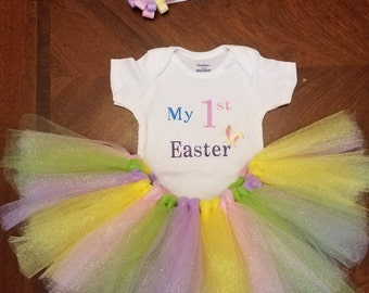 First Easter tutu outfit