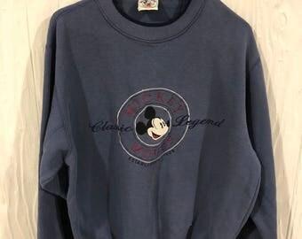 Vintage 90's Mickey Mouse Crewneck Sweatshirt