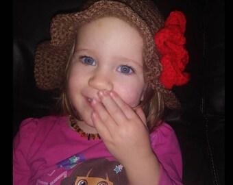 Little Girl's Sun Hat