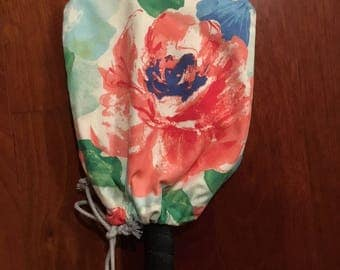Mixed Floral Pickleball Paddle Cover