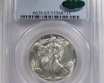 1947 Walking Liberty Half Dollar PCGS MS65 Certified Coin