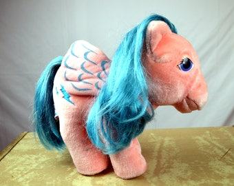 Vintage 1980s My Little Pony Plush Stuffed Animals - Hasbro Softies - Firefly