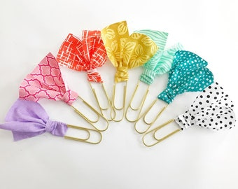 jumbo fabric clippie -- CHOOSE your color & style!
