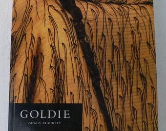 vintage art book, Goldie, 1997, New Zealand Artist, free shipping. from Diz Has Neat Stuff