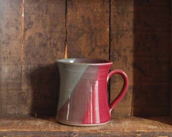 Mug in Sailors Delight by Village Pottery Prince Edward Island PEI