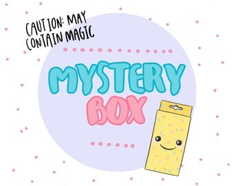 Mystery Box | A Lucky Dip Suprise : a collection of jewellery, accessories & gifts. A little magic mystery bag of Kawaii!