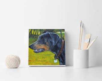 Pet portrait, Custom portrait, Dog order, Custom dog painting, Dog portrait, Dog lovers gift, Wall decor, Memorial art, Dog illustration art