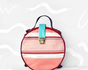 Handmade Bag & Backpack WAIKIKI Color Strawberry