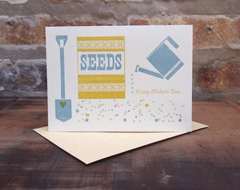 Tending the Soil - Mother's Day card