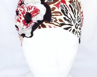 Woman chemo headwear,chemo beanie,chemo hat,slouchy beanie,summer tam,cancer cap,chemo head cover,cancer hat,chemo head wrap,chemo scarf