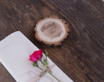 Wedding place card, Rustic name cards, Reversible table cards, Personalized escort cards, Wedding gift for guest, Rustic reception decor