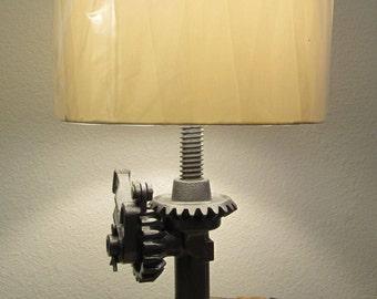Industrial Cast Iron Lamp