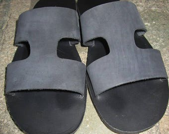 Men' s Sandals ,Mens Leather Sandals,Mens Sandals,Archaiko,Men's Sandals, Handmade Sandals, Leather Sandals, Greek Sandals, SOCRATES NOIR
