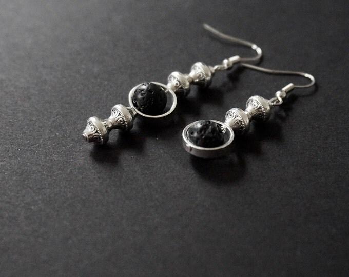 A year Silver earrings.