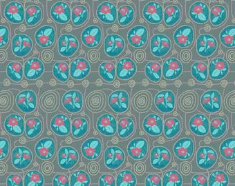 Anna Maria Horner Fabric, Sweet Dreams, NATIVE in GIN, Shabby Chic Fabric, Floral Fabric, Cotton Fabric, Quilt, Quilting, By the Yard