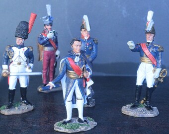 French Marshals of Napoleon- French Empire Generals- Collection DelPrado- 1804-1815- Miniature/Art/History- Figurine/Doll/Сollection
