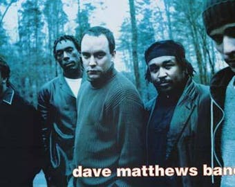 Dave Matthews Band Outside   Rare Giant Poster