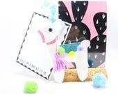 Llama decoration, glitter llama, animal decoration, tassle, glitter decoration, Christmas bauble