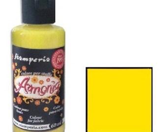 Armonia 60 ml - yellow fabric paint