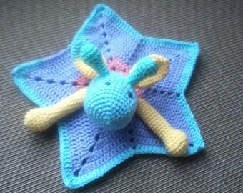 Star blanket, multicolored giraffe