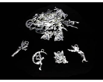 40 4 different fairy charms