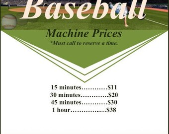 Baseball 30 min machine