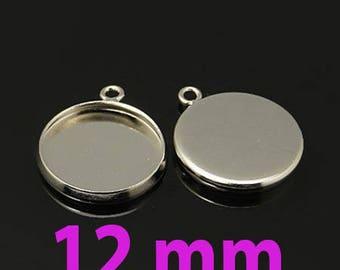 5 blank pendant tray (pr 12mm)