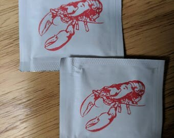 Lobster Wet Naps - Pack of 50