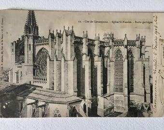 Antique Vintage French Postcard