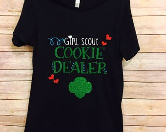 Girl Scout COOKIE DEALER Shirt adult or child