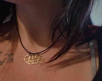 PL Crystal Pendent Necklace V1