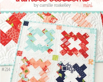 Mini Vintage Paper Quilt Pattern by Camille Roskelley of Thimbleblossoms
