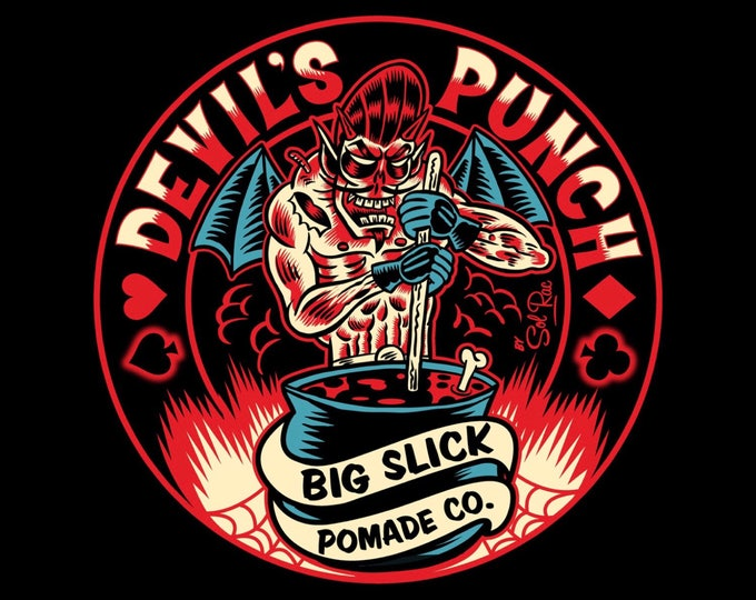NEW! Devil's Punch Hair Pomade • Heavy Hold