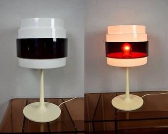 Vintage table lamp, plastic / Energi Rock / Magnus Elebäck & Carl Öjerstam | 70s