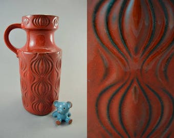 Vintage vase made by Scheurich / 485 26 / Decor Amsterdam | West German Pottery | 60s