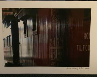 Train photography Greeting Card