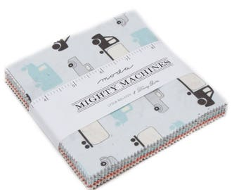 Mighty Machines by Lydia Nelson of Dreamy Quilts for Moda- 42 Fabrics