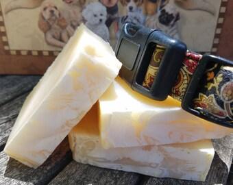 "Dog Soap, Shampoo ""Patchouli Poodle"" Pet Shampoo Bar with Natural Essential Oils, dog lover"
