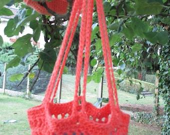 PATTERN Crochet Hanging Basket