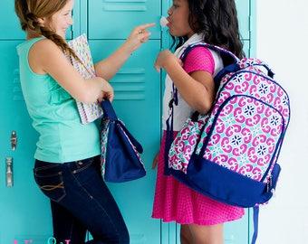 Custom Kids Bookbag - Girls Bookbag - Girls School Backpack - Kids Backpack - Monogrammed Backpack - Custom Bookbag - Kindergarten Bookbag