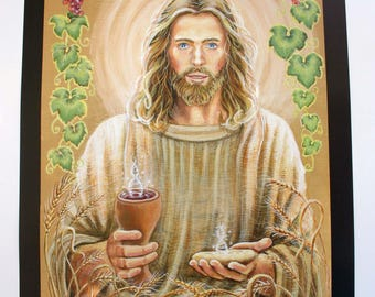 The Body and Blood of Our Lord, Jesus Christ, Poster