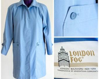 Light blue jacket from London Fog SIZE 12 R