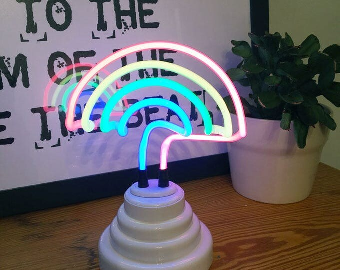 Mini Neon Rainbow Lamp