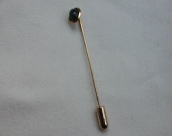 Jade Hat Pin Vintage