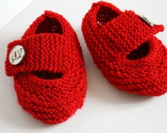 Red slippers for home