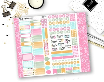 1013-PK // PERSONAL Trifold Insert Sticker Kit // Adventure Collection // Planner Stickers