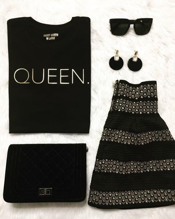 Queen. / Statemen tee / Graphic Tee / Statement Tshirt / Graphic Tshirt / Tshirt