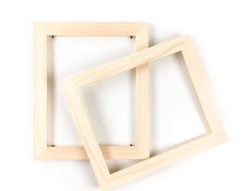 Bulk Unfinished Wood Frames