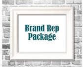 Brand Rep Package for Shea / 12 Prints / July-December Rep Contract