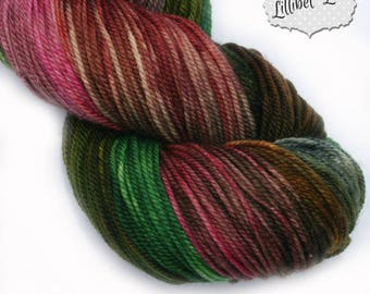 Bejewelled Hand Dyed 4ply Yarn